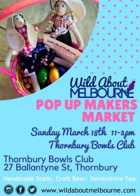 March 18 WAM Pop UP Makers Market