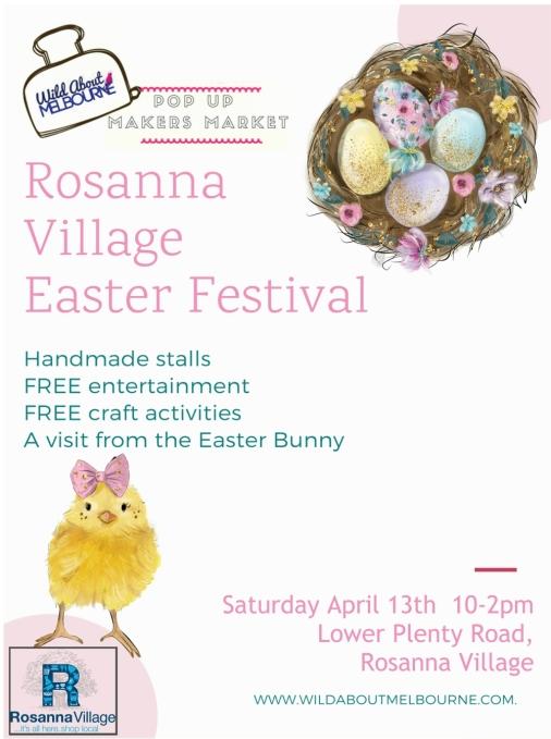 Rosanna Village April 13 Poster
