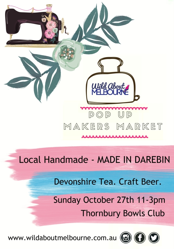WAM Pop Up Market Made in Darebin